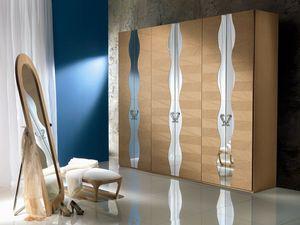 AR18 Iride armoire, Armoire modulaire, structure interne en mélamine
