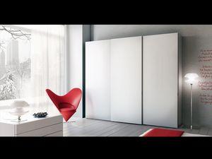 Armoire Zen 01, Armoire à portes coulissantes, des hôtels et des bureaux