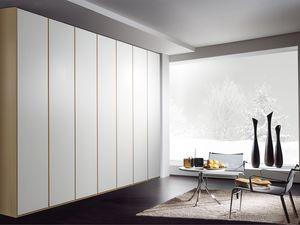 Armoire Idra 02, Armoire modulaire, avec différentes finitions et tailles