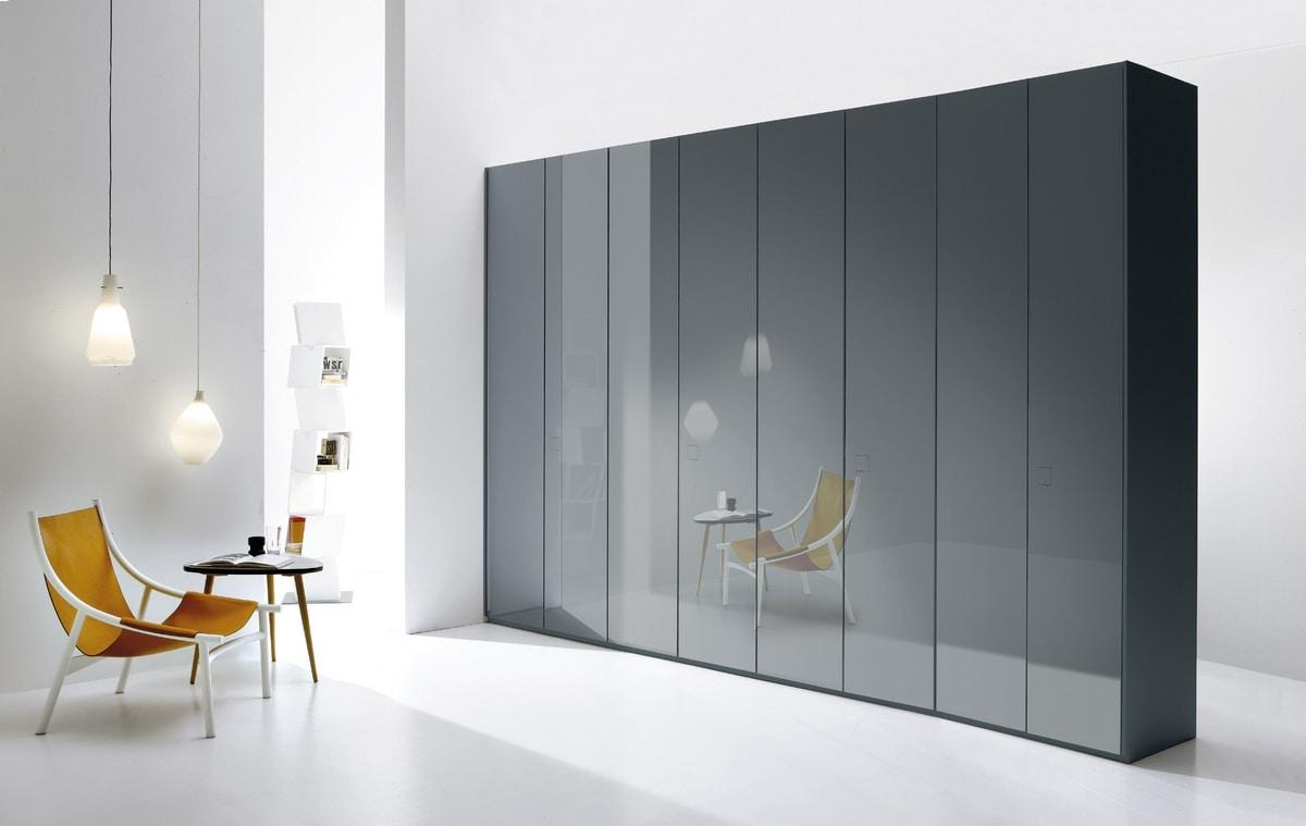 ATLANTE SEVENTY comp.01, Système d'armoires dans différentes dimensions et versions