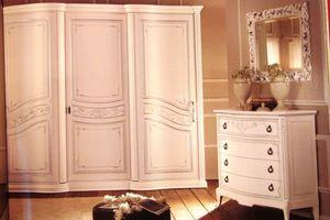 Boheme, Armoire à 3 portes pour chambres, dans le style classique de luxe