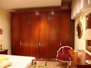 Chery, 6 portes Armoire en merisier, pour les chambres