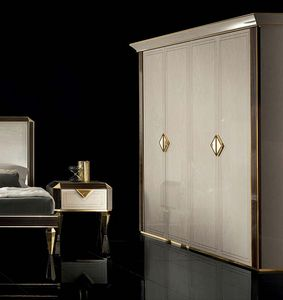 DIAMANTE Armoire, Armoire de style classique pour chambre