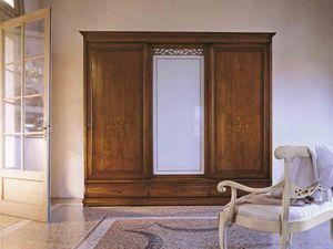 Fenice Armoire, Armoire de style classique avec portes coulissantes