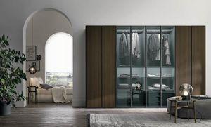 Metropolis, Armoire avec portes en verre
