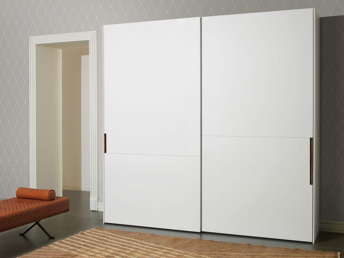 Armoire portes battantes, mat ou brillant, pour les chambres ...