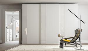 PARIGINO, Armoire � portes coulissantes en ch�ne