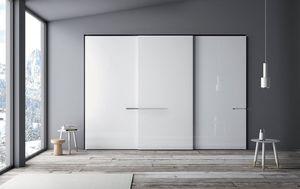 Riflesso, Armoire pour chambres avec portes coulissantes