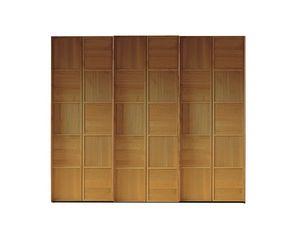 Scacchi 0372, Armoire en bois à portes coulissantes