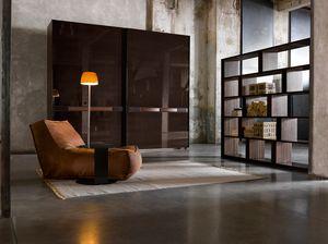 SUMO, Armoire modulaire avec portes coulissantes, différentes finitions