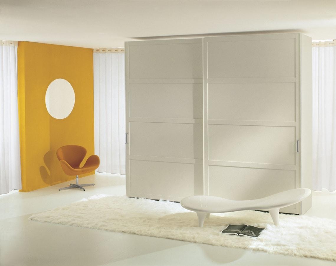 YOSHIDA, Placard de style japonais avec portes coulissantes