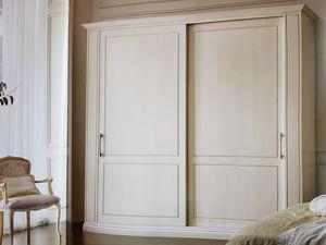 Clea, Armoire classique avec portes coulissantes
