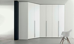 Dressing armoire, Armoire d'angle modulable