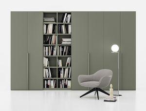 FILO, Armoire avec bibliothèque