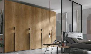 Liscia, Armoire en bois, portes battantes