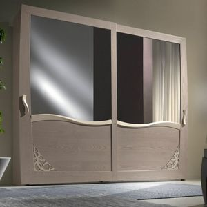 Luna LUNA5138-289, Armoire avec 2 portes coulissantes miroir
