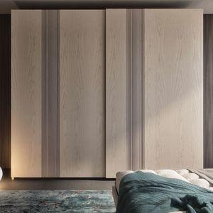 Nova NOVA1318T, Armoire avec portes en frêne et inserts en bois massif