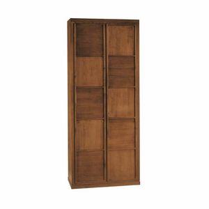 Scacchi 0348, Armoire 2 portes en bois