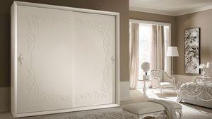 Siena Frame garde-robe, Armoire avec portes coulissantes, le style contemporain et classique