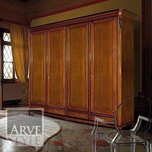 Villa Armoire, Armoire de style classique, avec tiroirs