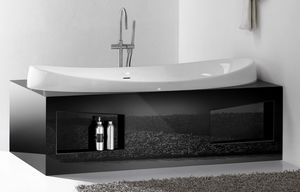 CHARME BATHTUB, Baignoire en céramique