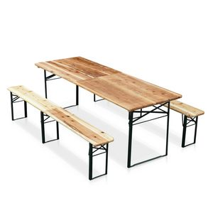 Ensemble banc et table