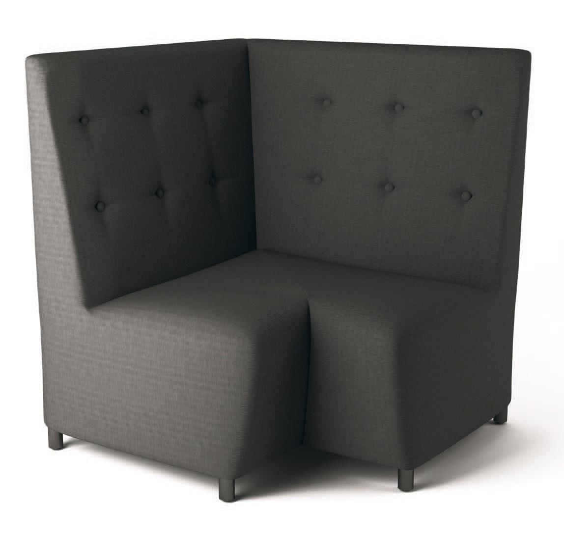PL Ciel, Sofa modulaire avec cadre en bois, pour le bureau