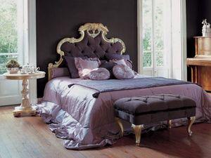 Art. 1191, Banc pour la chambre à coucher, rembourrage matelassé