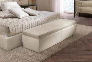 ART. 3355, Banc en cuir pour chambre à coucher