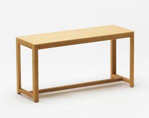 Seleri bench, Banc en bois au design minimaliste