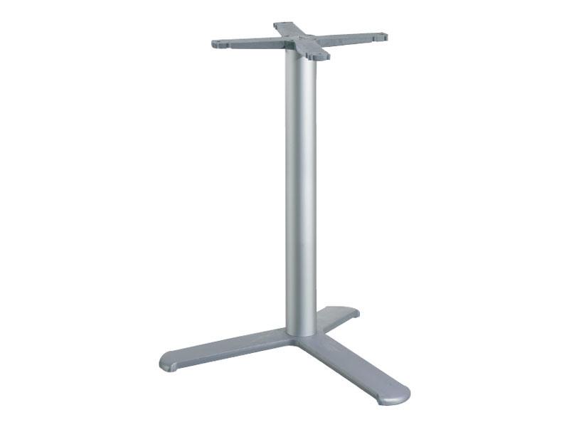 3 ped base h 115 cod. BGA3L, Base de table pour les bars, avec une colonne en aluminium
