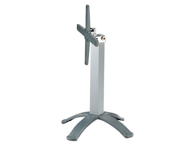 4 ped base cod. BGPJ, Cadres rabattables métalliques pour tables de bar