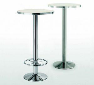 4154R, Base de table en métal avec repose-pieds