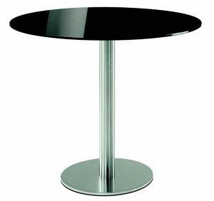 4411 Inox, Base ronde pour les tables