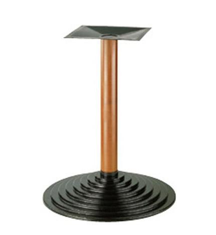 906, Base en métal pour la table, la colonne hêtre, pour les pubs
