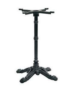 908 4 jambes, Base en fonte pour les tables de bar, avec 4 branches