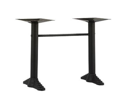 910, Bases pour la table de bar, avec 2 colonnes métalliques