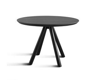 ART. 0098-4 AKY CONTRACT, Base pour la table de conception de bar, en bois, avec 4 jambes