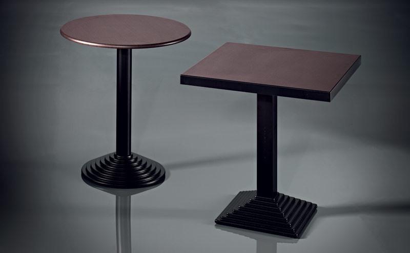 ART. 184, Base de table, en métal peint, pour les bars