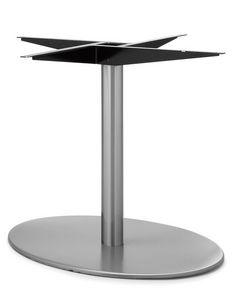 Art.290/EL/4, Base de table elliptique, cadre en métal, pour le contrat et l'usage domestique