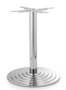 Art.4050, Base de la table ronde, cadre en métal, pour le contrat et l'usage domestique