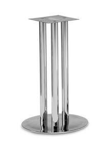 Art.500, Base de la table ronde, 3 tubes structure, par contrat et environnement domestique