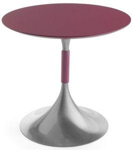Art.Maind/720, Base ronde de table, cadre en métal, dans un style contemporain, pour les environnements de contrat et domestiques