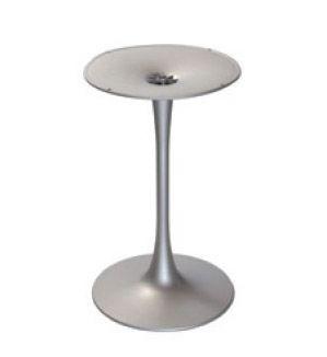 Base Venus round cod. BGP, Base ronde pour table de bar, en polymère