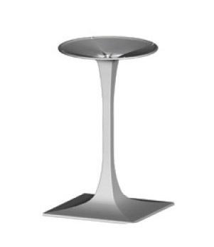 Base Venus squared cod. BGPQ, Support pour table basse carrée, pour les bars et restaurants