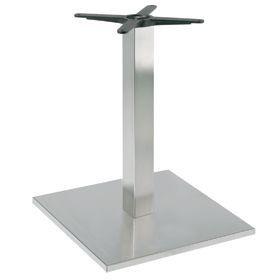 Firenze 9018, Base de table pour les bars, la base et la colonne en acier