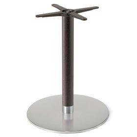 Firenze 9220, Base de table pour les bars, base en acier et de la colonne de hêtre massif