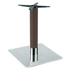 Firenze 9225, Base de table pour les bars, base en acier et de la colonne de hêtre massif