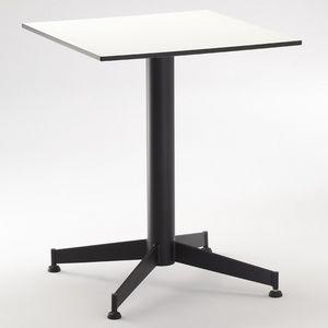 FT 022, Base pour table de bar, avec 4 courses, différentes couleurs