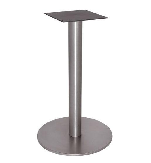 FT 065, Café base de table, entièrement en acier poli